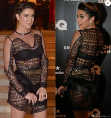 Fernanda Paes Leme caprichou na transparência com um vestido de Helô Rocha