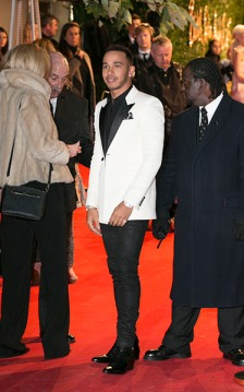 LONDON, ENGLAND - NOVEMBER 23: Lewis Hamilton attends the British Fashion Awards 2015 at London Coliseum on November 23, 2015 in London, England. (Photo by John Phillips/Getty Images)