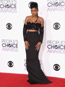 LOS ANGELES, CA - JANUARY 06: Actress Keke Palmer attends the People's Choice Awards 2016 at Microsoft Theater on January 6, 2016 in Los Angeles, California. (Photo by Jason Merritt/Getty Images)