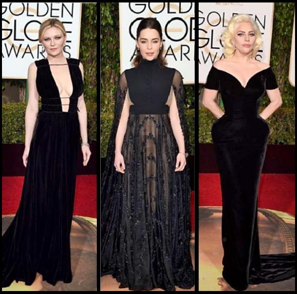 Red Carpet -Golden Globe Awards | Charme Haut®