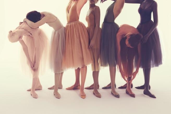 576956ba5d5 Christian Louboutin  Solasofia  Ballet Flat to  Nudes  Collection.