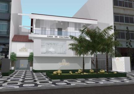 OMEGA House (Divulgação OMEGA)