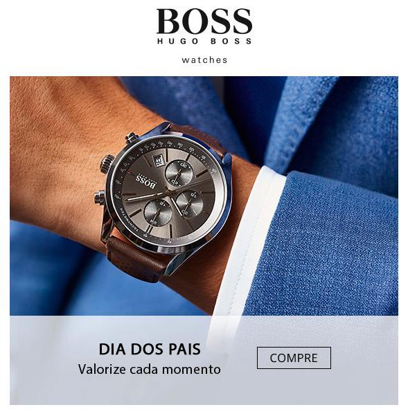 Dia dos Pais   Relógios Hugo Boss 🕕   Charme Haut® 734d3ba4ab