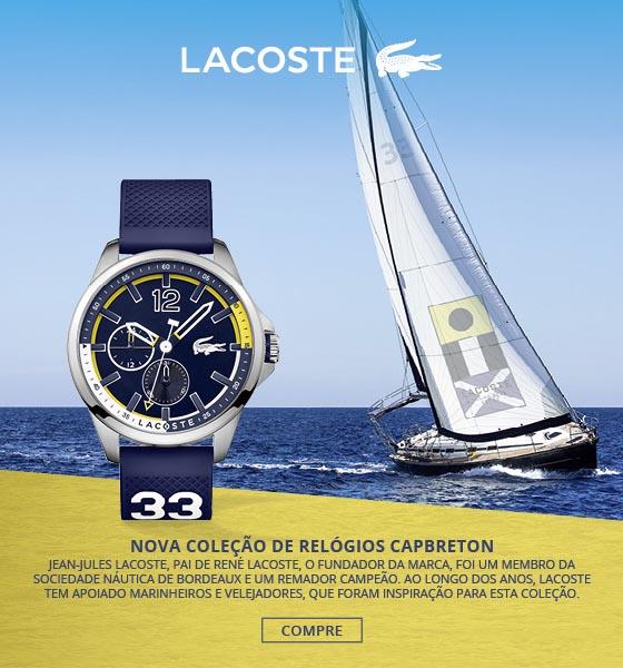 d76f98991fc24 Relógios Lacoste   Conheça a Nova Coleção!   Charme Haut®