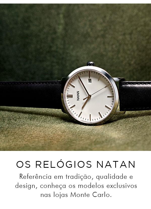 87595337a6e Conheça os Relógios Natan!
